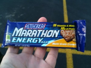 Snickers Marathon Energy Bar