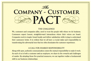 Company Customer Pact
